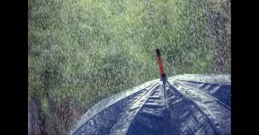 暴雨来啦!国广子行传媒人拍的雨景图,氛围感十足