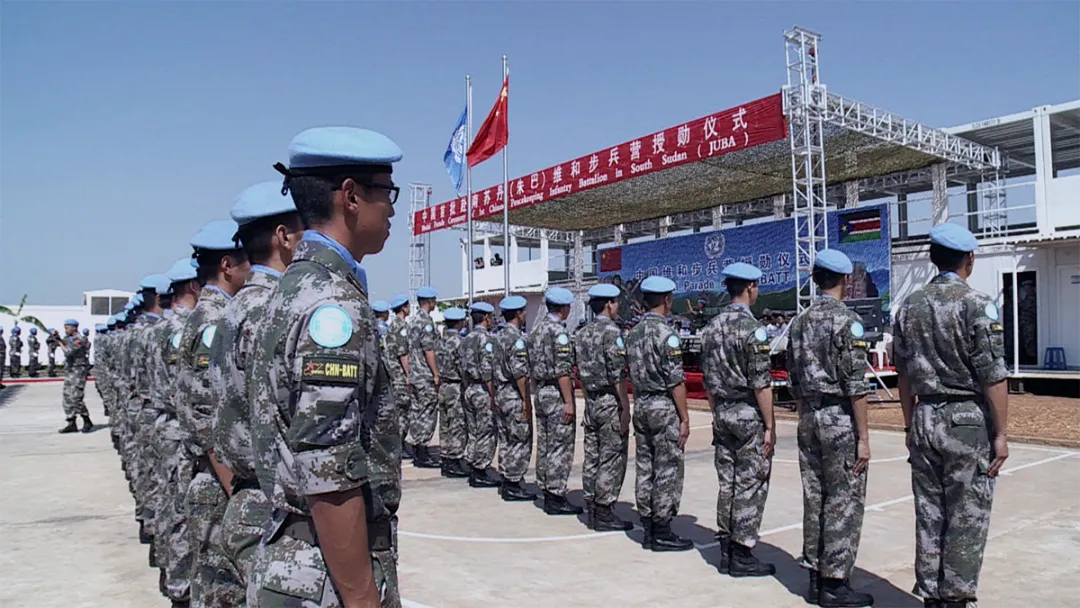 国际维和人员日   为世界和平出征!一起走进中国蓝盔的维和之路